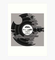 Star Wars - Death Star Vinyl Art Print