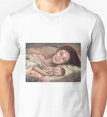 Lexa and her baby Unisex T-Shirt