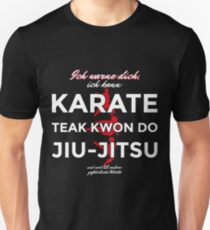 Ich kann Karate Unisex T-Shirt