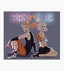 The Foxhole Fight Club Photographic Print