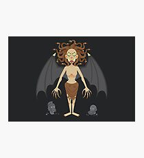 Gorgon Medusa Photographic Print