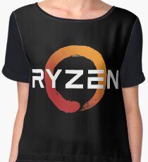 Ryzen Zen Logo Chiffon Top