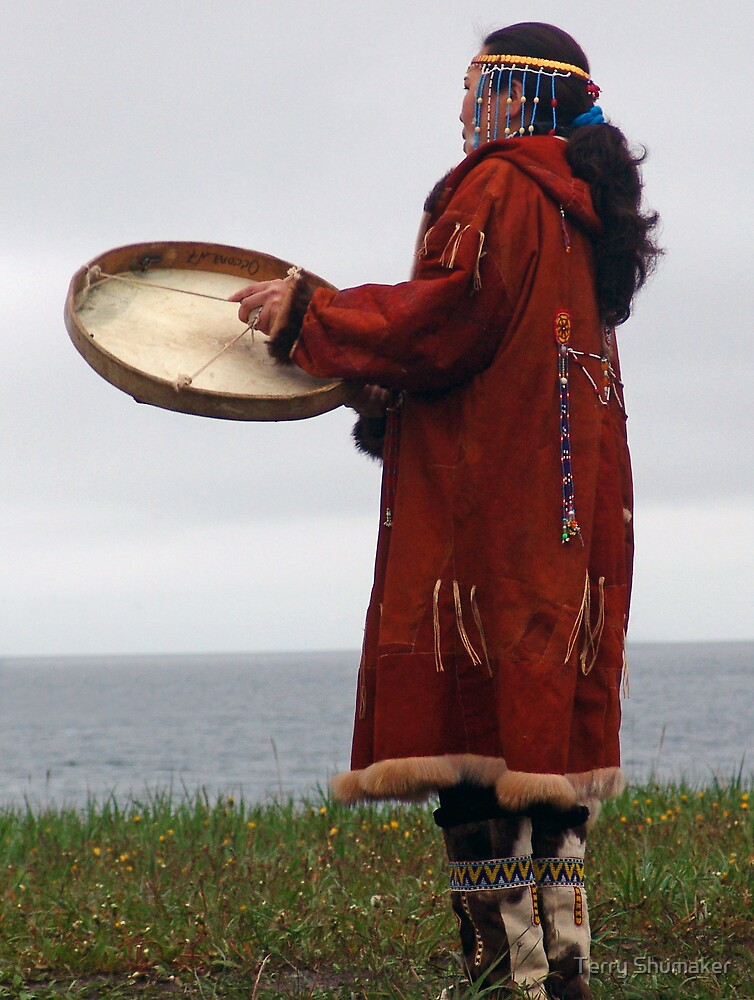 Drum Woman by Terry Shumaker