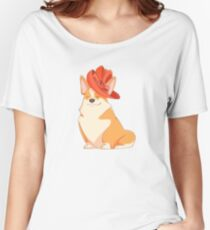 Queen Corgi Women's Relaxed Fit T-Shirt