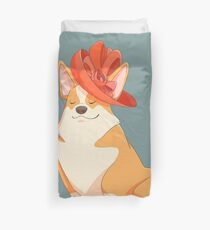 Queen Corgi Duvet Cover