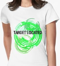 Target Located Women's Fitted T-Shirt