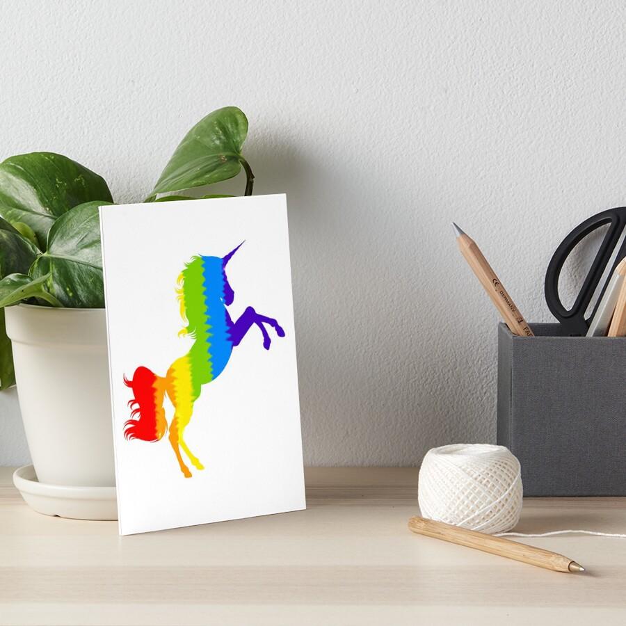 Rainbow Unicorn by HannArtista