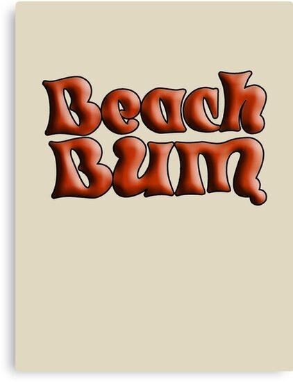 Beach bum  by Asrais