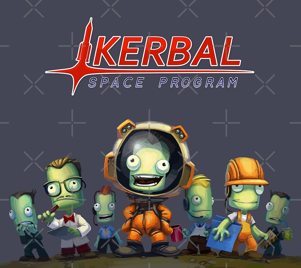 Kerbal Space Program KSP Team by orinemaster