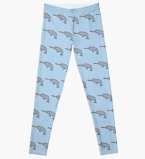 Always Be Yourself, Unless You Can Be A Narwhal Leggings