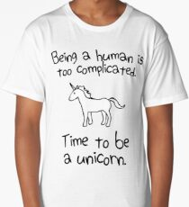 Time To Be A Unicorn Long T-Shirt