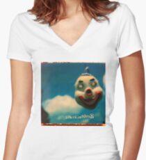 Vivadixiesubmarinetransmissionplot Women's Fitted V-Neck T-Shirt