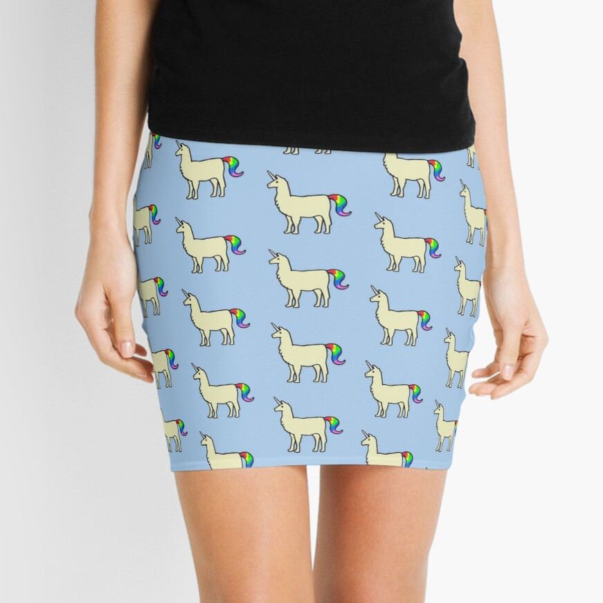 Sei immer du selbst, es sei denn du kannst ein Llamacorn sein Minirock