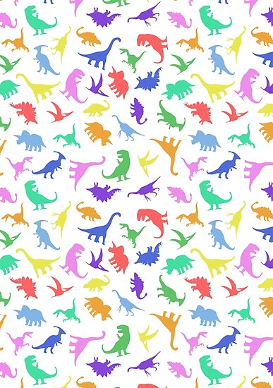 Fun Dinosaur Pattern by jezkemp