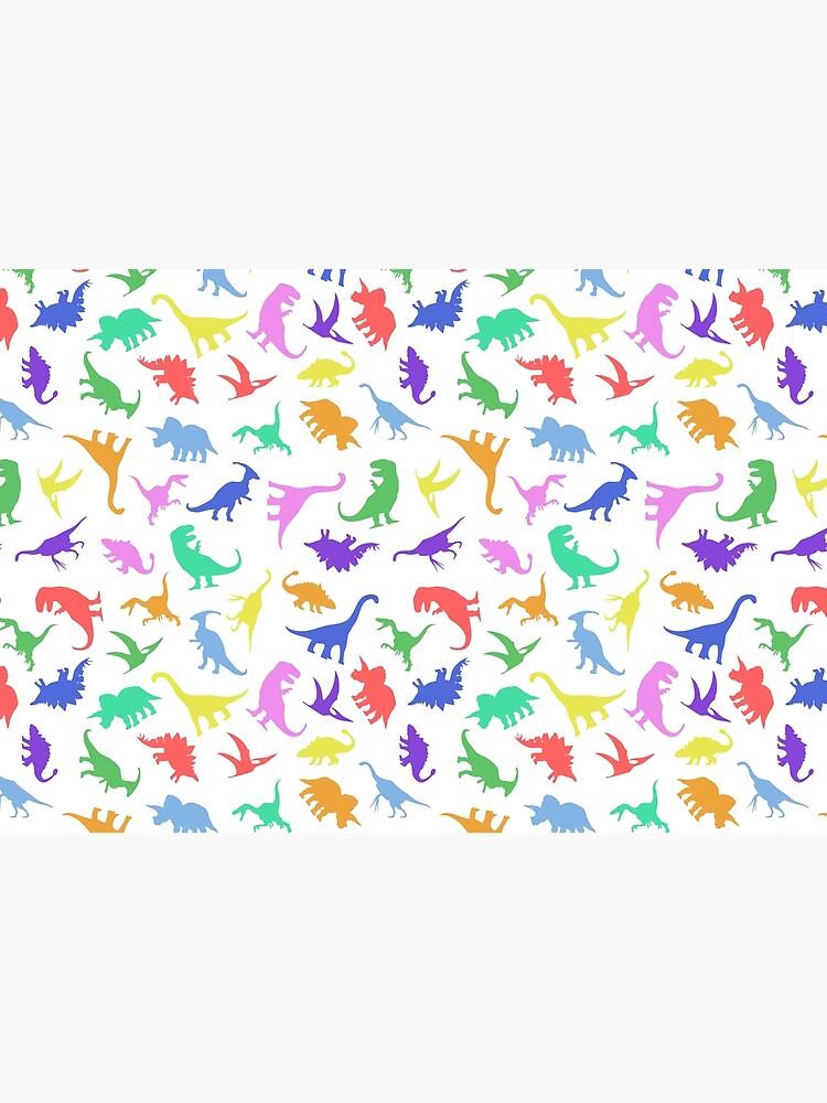 Patrón divertido dinosaurio de jezkemp