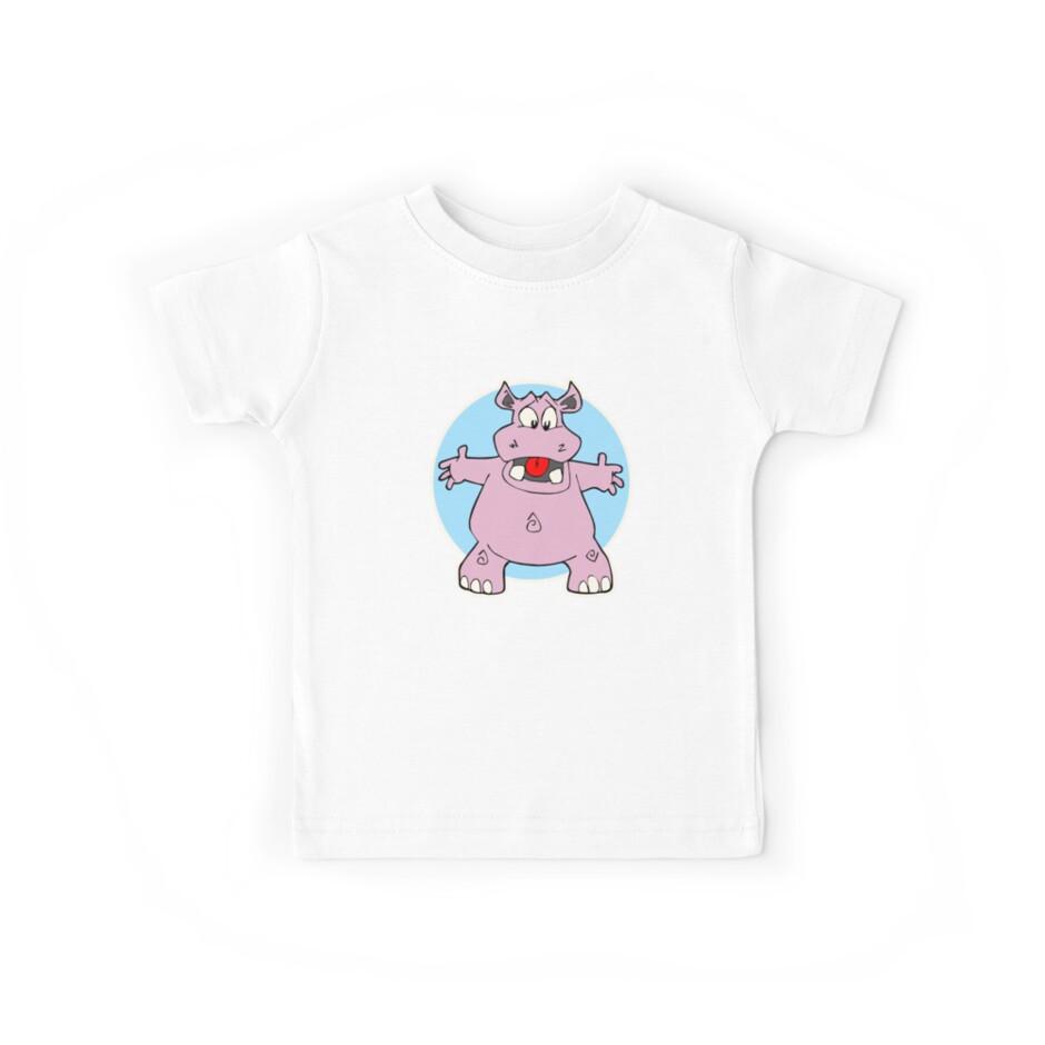 Hippo Hug Hippopotamus Hug by CafePretzel