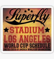 Superfly Stadium Los Angeles Sticker