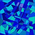 Shifted Perspective Geometric Abstraction by camzhu