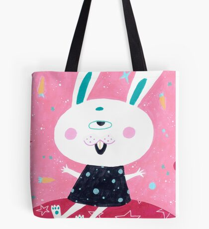 Bunny from mars Tote Bag