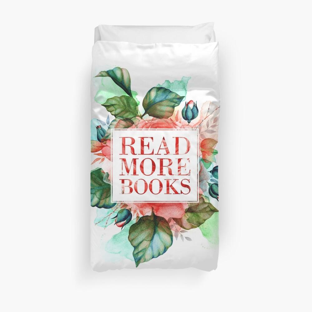 Lies mehr Bücher Bettbezug