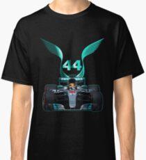 Lewis Hamilton and 2017 f1 car Classic T-Shirt
