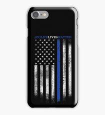 POLICE LIVES MATTER iPhone Case/Skin