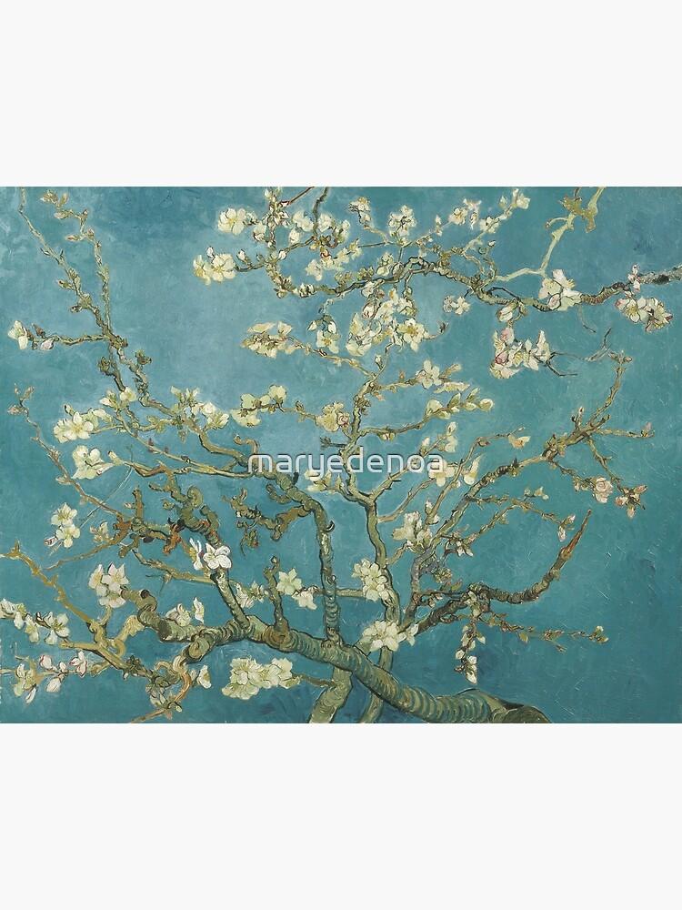 Mandelblüte - Vincent Van Gogh von maryedenoa