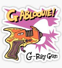 Raygun G Sticker
