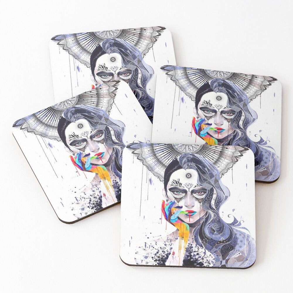 Janus Coasters (Set of 4)