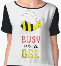 Busy as a Bee Women's Chiffon Top