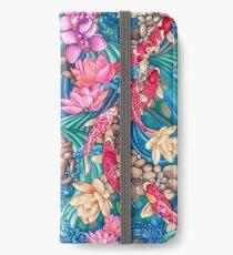 Koi Pond iPhone Wallet/Case/Skin