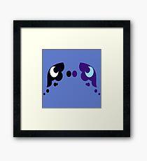My little Pony - Luna + Nightmare Moon Cutie Mark Framed Print