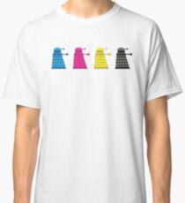 CMYK Dalek Classic T-Shirt