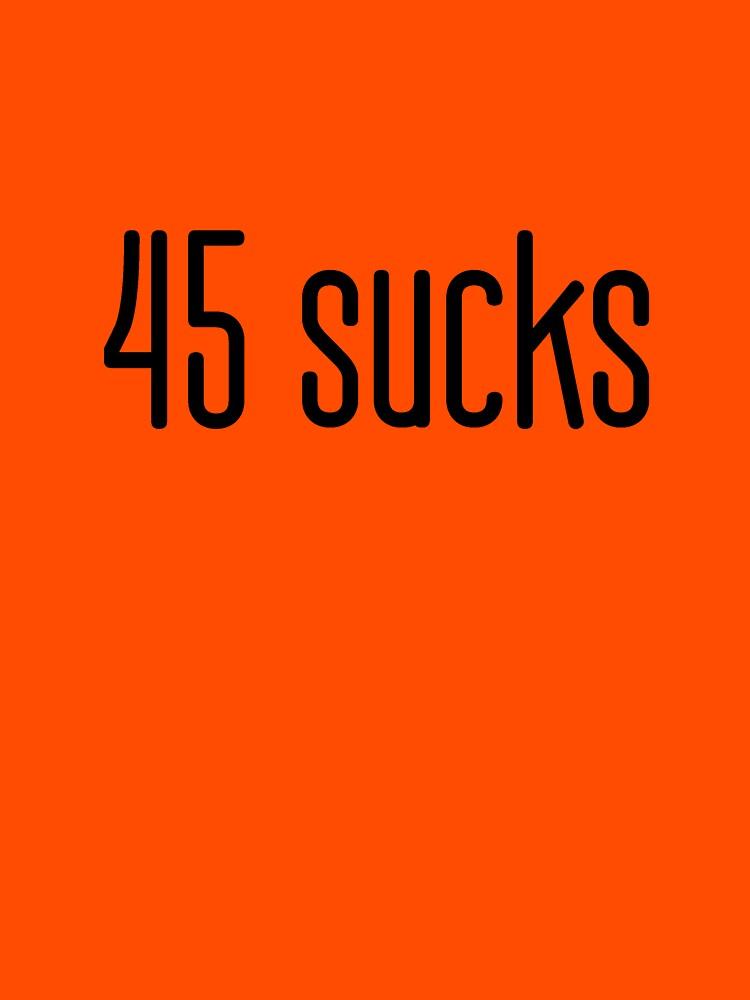 45 sucks by BearSquared