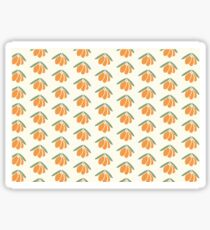 Sea buckthorn pattern Sticker