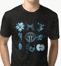 Fringe Division and Glyphs Tri-blend T-Shirt