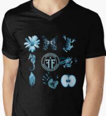 Fringe Division and Glyphs Mens V-Neck T-Shirt