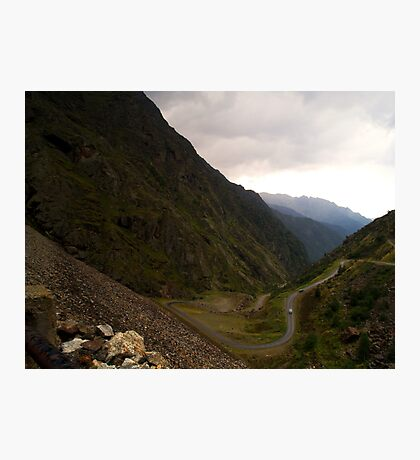 Mountain Pass Photographic Print