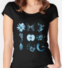 All nine glyphs of Fringe Women's Fitted Scoop T-Shirt