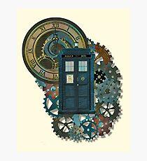 TARDIS Art Doctor Who  Photographic Print