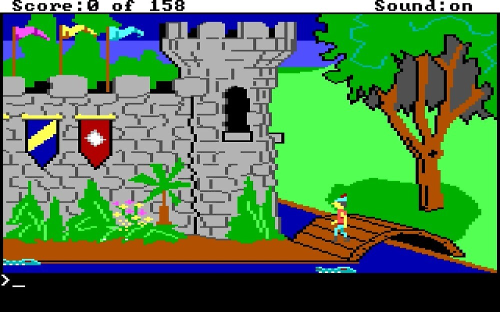King's Quest 1 screenshot by kjksvmn
