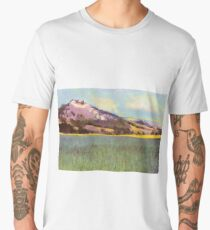 Falkenstein Landscape In Lower Austria Men's Premium T-Shirt