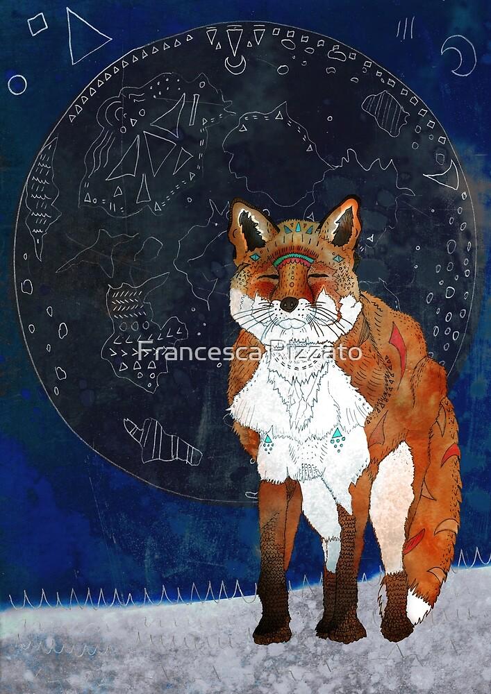 Lunar Kitsune by Francesca Rizzato