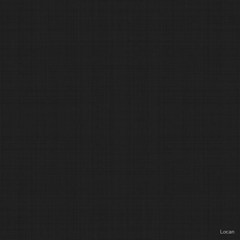 Black Linen | Solid by Landon Easley