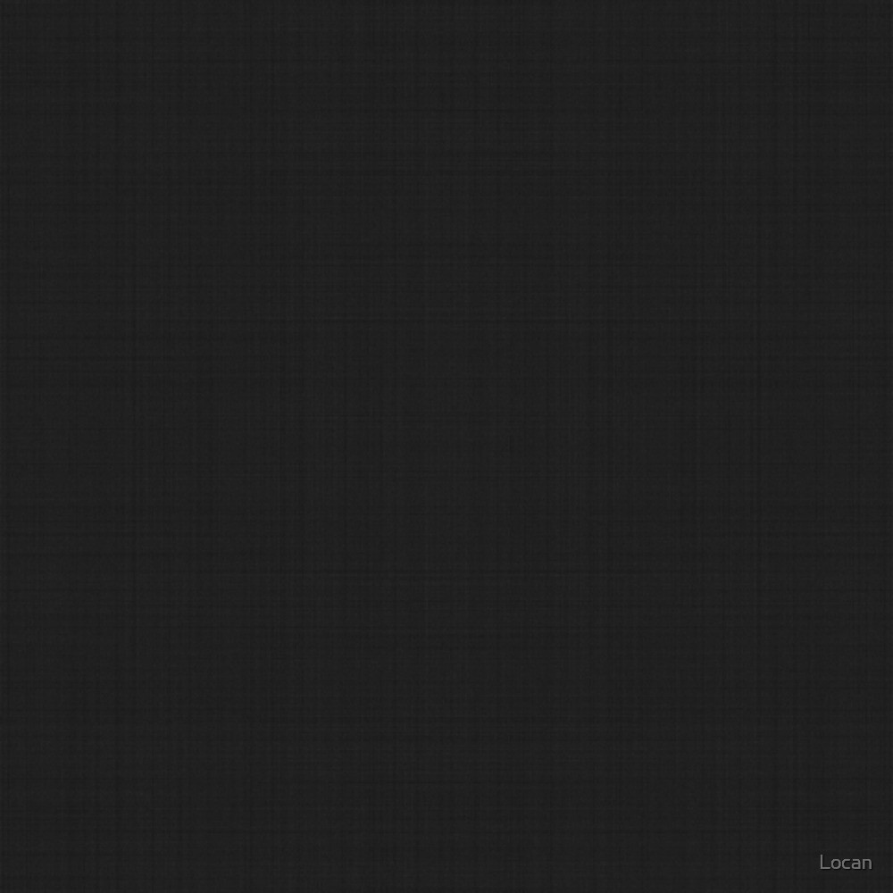 Black Linen | Solid by Locan
