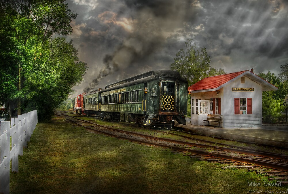 The Train Station by Michael Savad