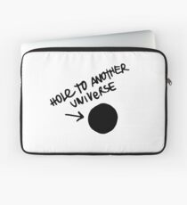 Hole to another universe Laptop Sleeve