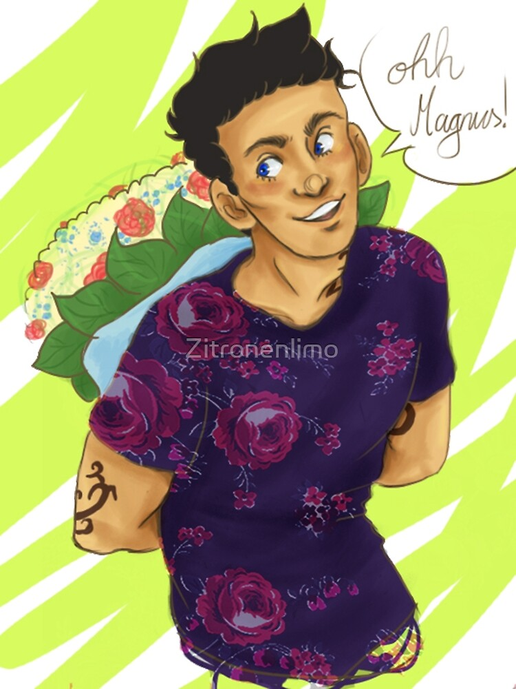 Flowers for Magnus by Zitronenlimo