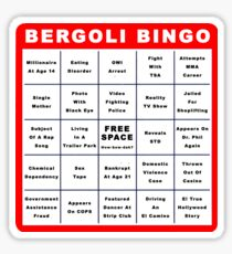Bergoli Bingo Sticker