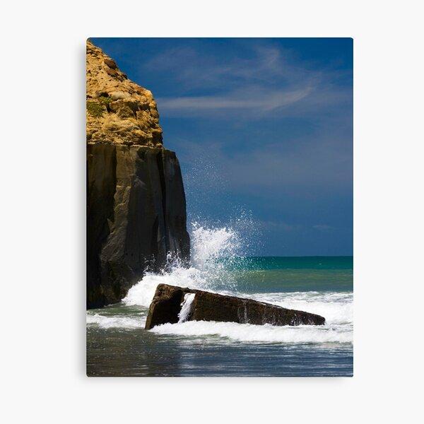 Kai Iwi Beach - Wanganui, NZ Canvas Print
